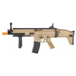 Réplique airsoft FN Scar-L tan, ressort   Cybergun