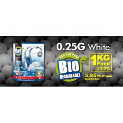 Billes bio 0,25 g en sachet de 1 Kg   G&G