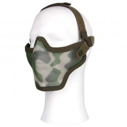 Masque grille camouflage woodland | 101 Inc
