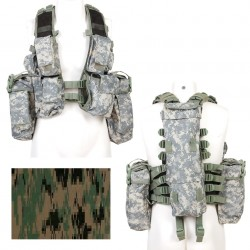 Gilet tactique camouflage digital | 101 Inc