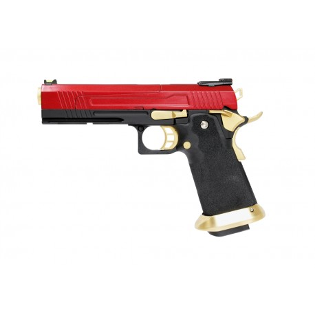 Réplique airsoft HX1004 split red gaz blow back | AW custom