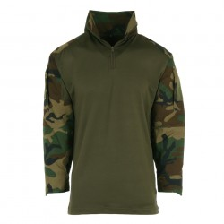 Tactical shirt camouflage woodland | 101 Inc