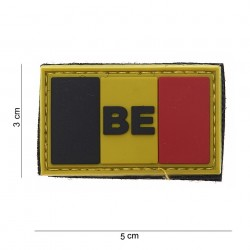 "Patch 3D PVC ""Belgique"", 101 Inc"