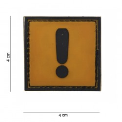 "Patch 3D PVC ""Caution"", 101 Inc"