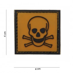 "Patch 3D PVC ""Toxic"", 101 Inc"
