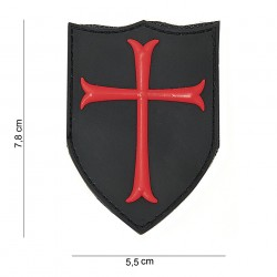 "Patch 3D PVC ""Crusader"", 101 Inc"