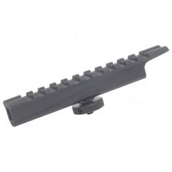 Rail pour système de visée sur réplique airsoft de type M4 / M15 / M16, Cybergun
