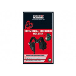 Holster d'épaule horizontal noir droitier | Swiss Arms