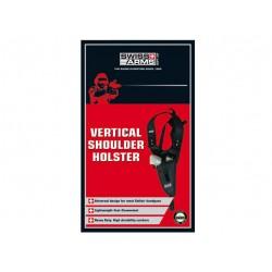Holster d'épaule vertical noir droitier | Swiss Arms