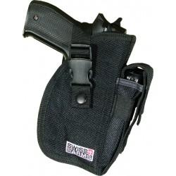 Holster de ceinture noir multi-angle droitier | Swiss Arms