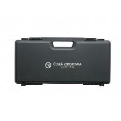 Mallette de transport ABS noire 46 x 23 x 8,5 cm pour réplique de poing CZ | Strike Systems