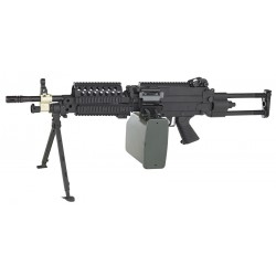 Réplique airsoft FN Minimi MK46, électrique non blow back, Cybergun