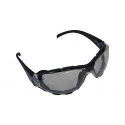 Lunettes de protection promouss verres et monture noires, Dmoniac