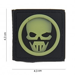 "Patch 3D PVC ""Ghost"" avec velcro, 101 Inc"