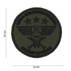 "Patch 3D PVC ""101 Inc rond"" avec velcro, 101 Inc"
