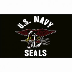 "Drapeau ""Navy Seals"", 101 Inc"