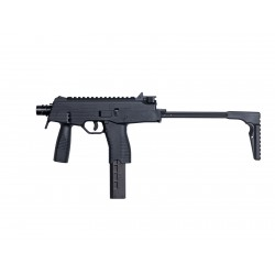 Réplique airsoft MP9 A1 noire gaz blow back | ASG