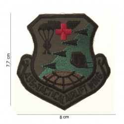 """Patch tissus """"US tactical airlift wing"""", 101 Inc"""