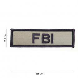 "Patch tissus ""FBI"", 101 Inc"