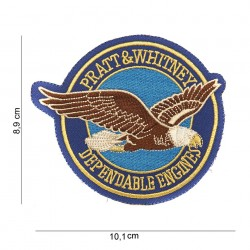 "Patch tissus ""Pratt & Whitney Depandable Engines"", 101 Inc"