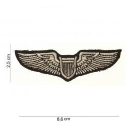 "Patch tissus ""US pilot wing"", 101 Inc"