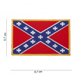 "Patch tissus ""Drapeau rebel"", 101 Inc"