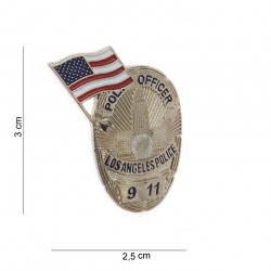 "Badge ""Officer Los Angeles police"", 101 Inc"