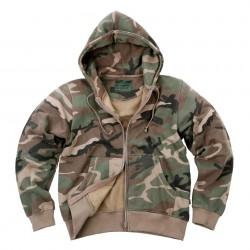 Veste avec capuche - Différents coloris et camouflages, 101 Inc