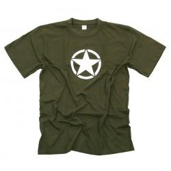 """T-shirt """"Étoile blanche"""" - Différents coloris, 101 Inc"""