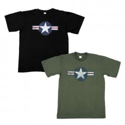 "T-shirt ""WW II"" - Différents coloris, 101 Inc"