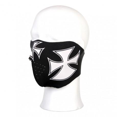 Masque néoprène demi croix de Malte | 101 Inc