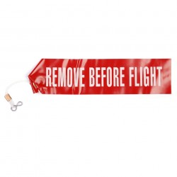 "Ruban de sécurité ""Remove before Flight"" 