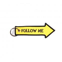 """Porte-clés """"Follow me""""   101 Inc"""