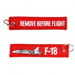 "Porte-clés ""RBF + F 18"" | 101 Inc"