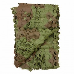 Filet de camouflage woodland 2,7 x 2,4 m | 101 Inc
