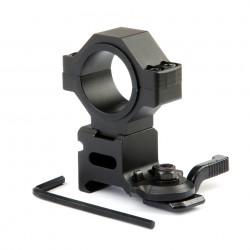 Anneau de montage 25,4 mm et 30 mm avec attache rapide | 101 Inc