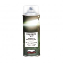Vernis transparent pour peinture 400 ml en spray, Fosco