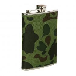 Flasque en métal 220 ml camouflage woodland | 101 Inc