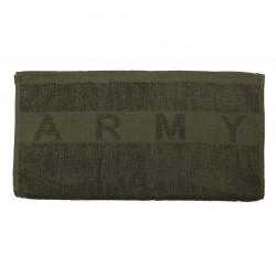 "Serviette ""Army"" verte 100 x 50 cm | 101 Inc"