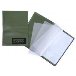 Porte documents A5 vert étanche | Fosco