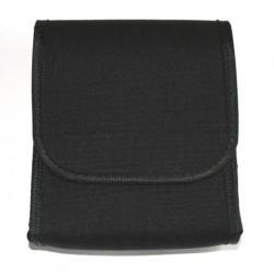 Pochette de documents noir 17 x 14 x 4 cm | 101 Inc