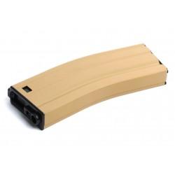 Chargeur métal tan 450 billes pour réplique airsoft GR16 électrique | G&G