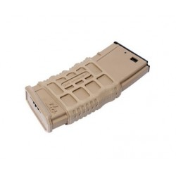 Chargeur GMAG-V1 tan 300 billes pour réplique airsoft GR16 électrique | G&G