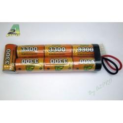 Batterie Ni-Mh 8,4 V - 3300 mAh, A2 Pro