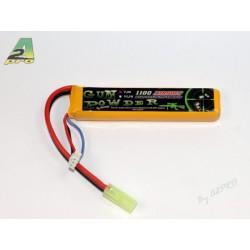 Batterie 1 stick Li-Po 7,4 V - 1100 mAh, A2 Pro