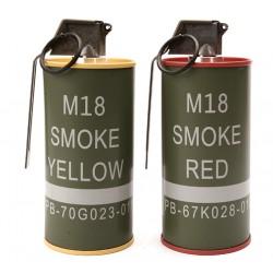 """Fumigène """"M18"""" pour réserve de billes, par 2   G&G"""