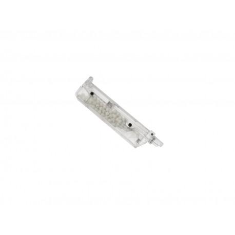 BB loader airsoft transparent d'une capacité de 90 billes | ASG