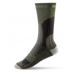 Chaussettes climat chaud longues marches OD | T.O.E