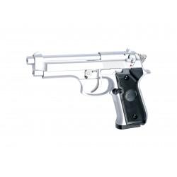 Réplique airsoft M92 F silver, gaz non blow back | ASG