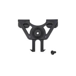 Support système MOLLE pour holster rigide noir | Swiss Arms